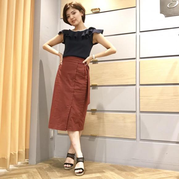 カジュアル☆ロングタイトスカート