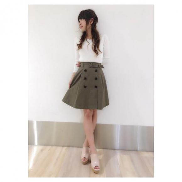 トレンチスカート♡yamamoto