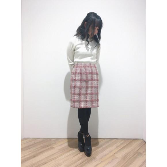 きれいめスタイルに! タイトスカート♡