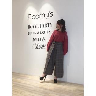 ♡MIIA×Roomy'sコラボ♡