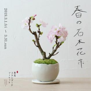 春の石木花市