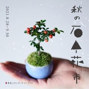 ミニ盆栽販売会『秋の石木花市』