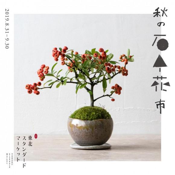 山形県のミニ盆栽『秋の石木花市』開催中!