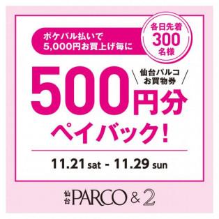 ☆11月29日で最終日!ポケパルフェア☆