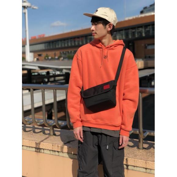 ☆Waxed Nylon Casual Messenger Bag☆