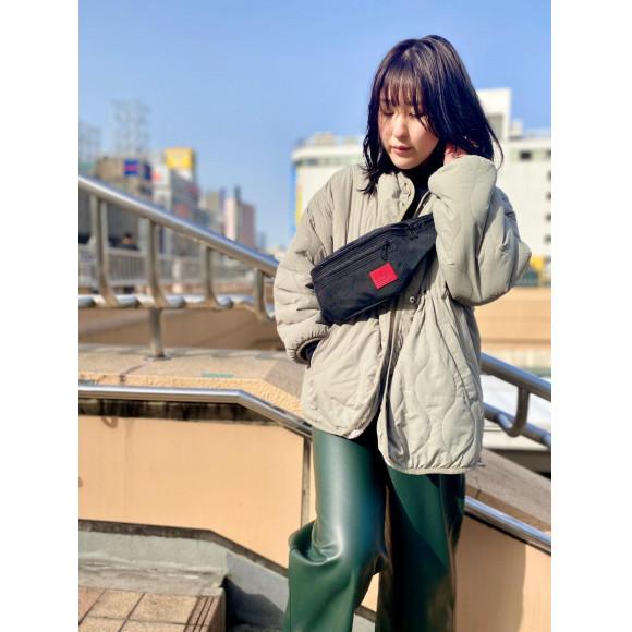 ☆CORDURA® Waxed Nylon Fabric Collection Alleycat Waist Bag☆
