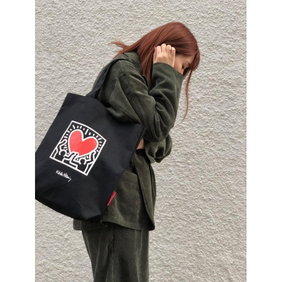 ☆Packable Tote Bag Keith Haring☆