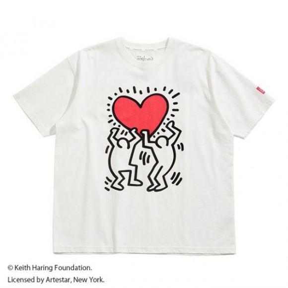 【サイズが豊富!】Keith HaringプリントTシャツ