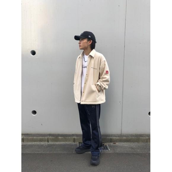 【本日発売】軽量!防寒!のコーチジャケット