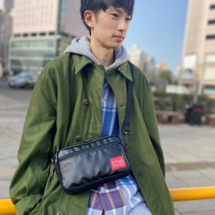 ☆Matte Vinyl Jogger Bag☆