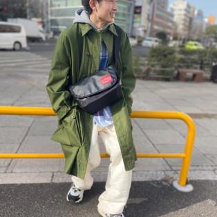 ☆Matte Vinyl Casual Messenger Bag JR☆