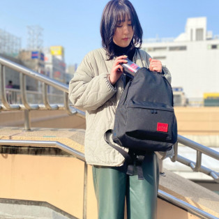 ☆CORDURA®Waxed Nylon Fabric Collection Big Apple Backpack JR☆