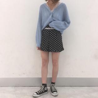 春物新作商品☆ベルト付フリルショートパンツ