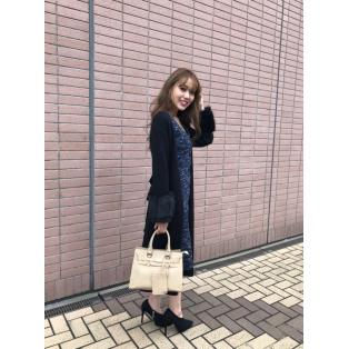 Faux Fur SLV Knitカーデ本日発売♡