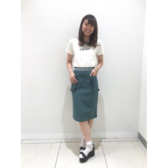 フリルポケットタイトスカート♡