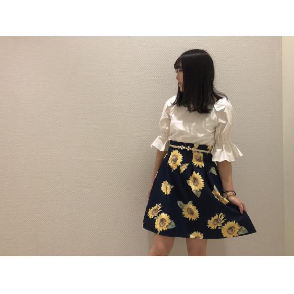 向日葵スカート♡
