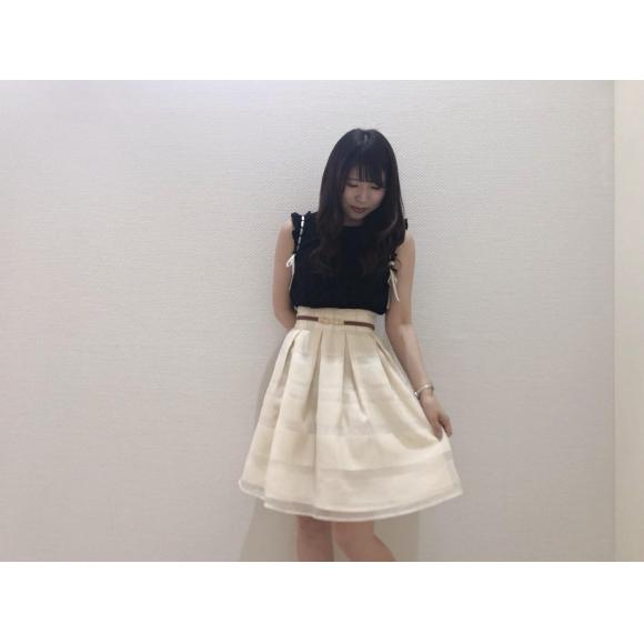 シアーボーダースカート♡