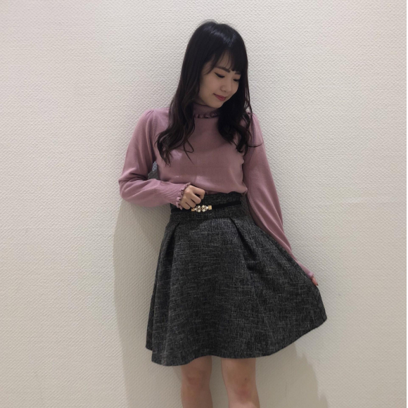 ツィードスカート♡