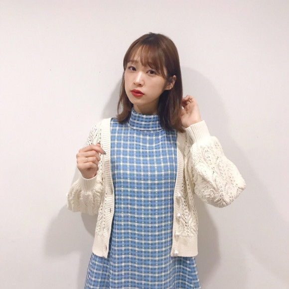 透かし柄パール釦カーディガン♡
