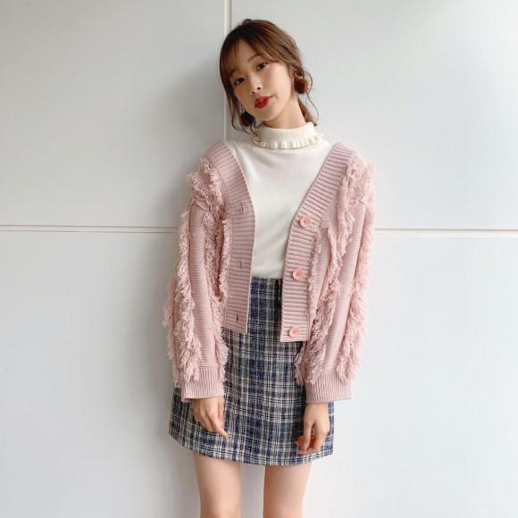 デザインタブミニスカート♡
