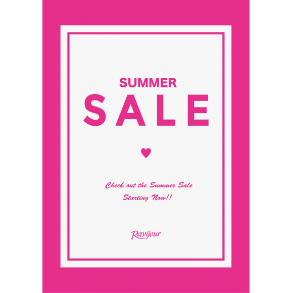 Ravijour SummerSALE Start !!!!!