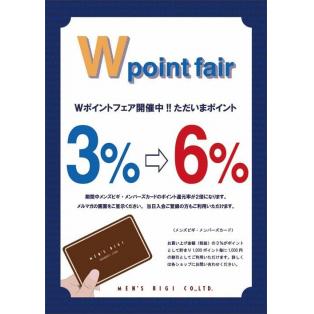 お得なWポイントフェア!!