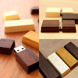 【コンパクトで可愛い木製USBメモリーTablet/Chocolat Mini】