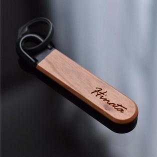 【記念品・大量ギフトにおすすめ☆】マグネット付き木製キーホルダー