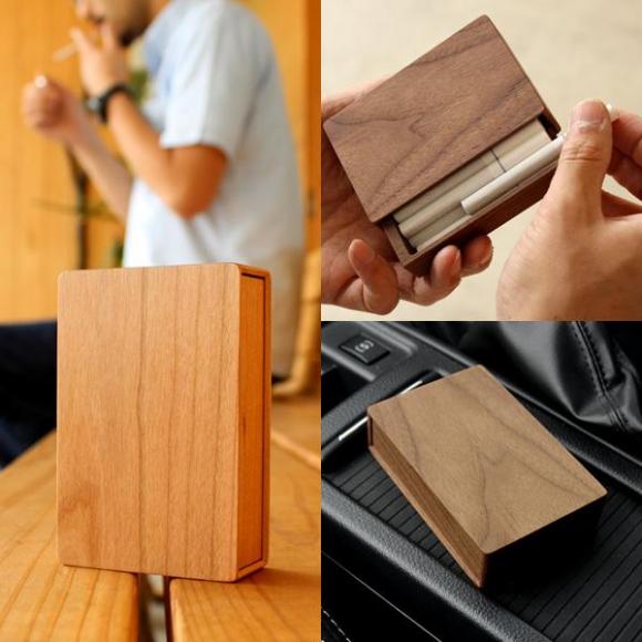 高級感漂う木製シガレットケース【CigaretteCase 】
