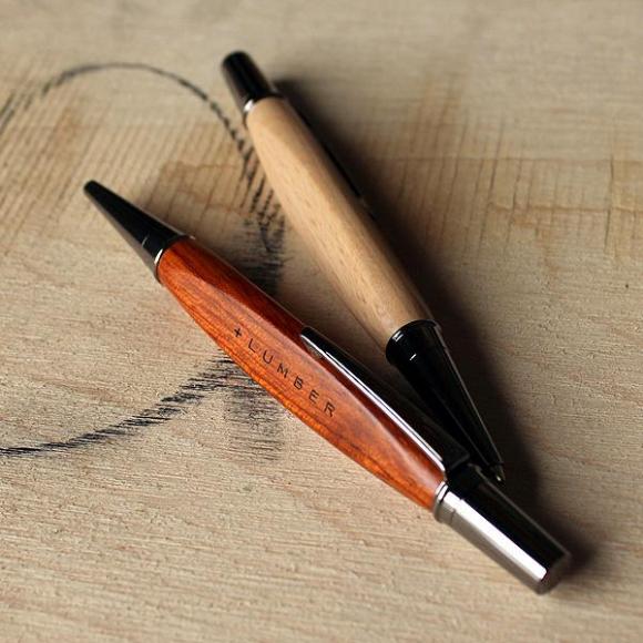 【父の日ギフトにおすすめ♪】銘木をプラスしたボールペン!