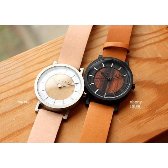 【ペアギフトにおすすめ!】木の美しさを活かした木製腕時計♪