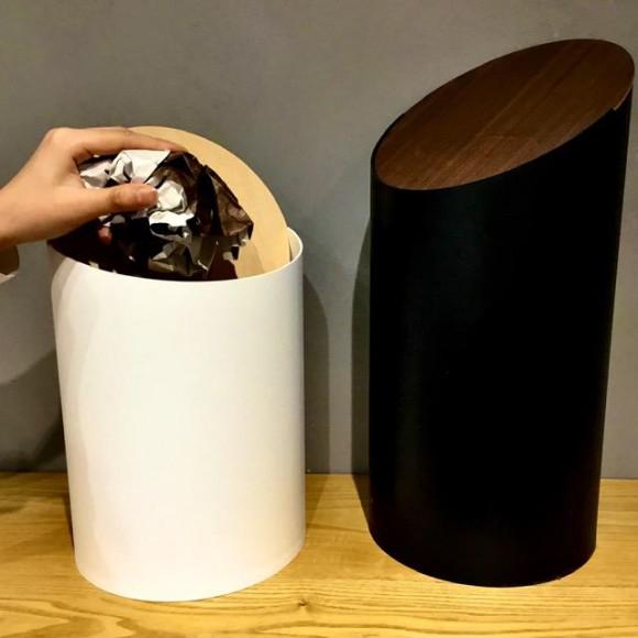 【シンプルの限界が生み出す洗練された美しいゴミ箱】