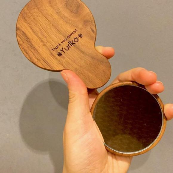 小さくてかわいい手鏡・コンパクトミラー