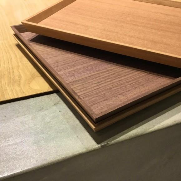 毎日使えるおしゃれな木製トレイ