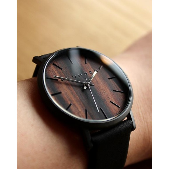 【WEB注文OK!】文字盤に本木目を使用した美しい腕時計
