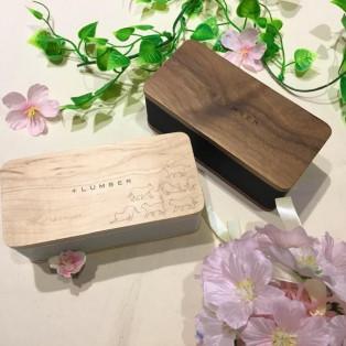 使い勝手が良い高級感漂う木製スピーカー