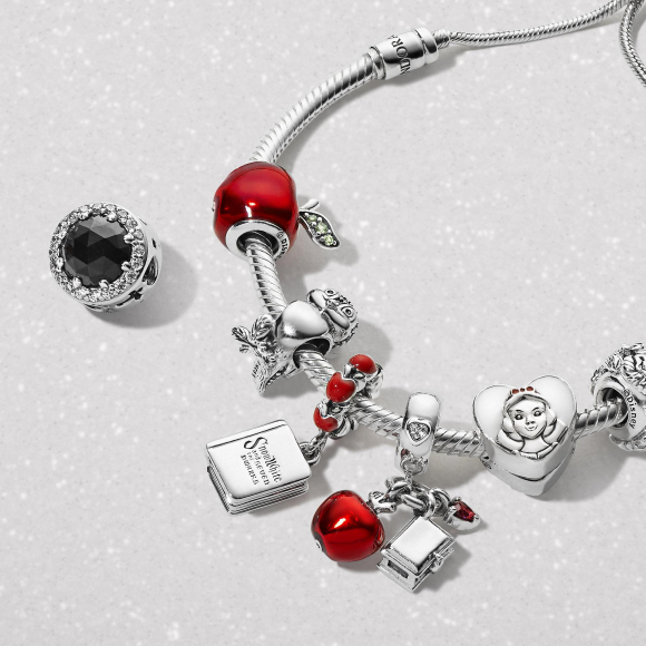 PANDORA Disney Jewelry Collection 【白雪姫】