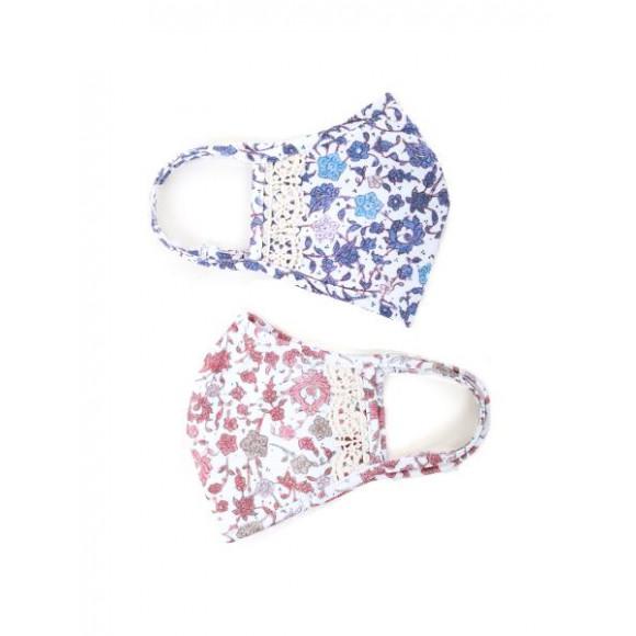 NEW☆可愛い花柄UVカットマスク