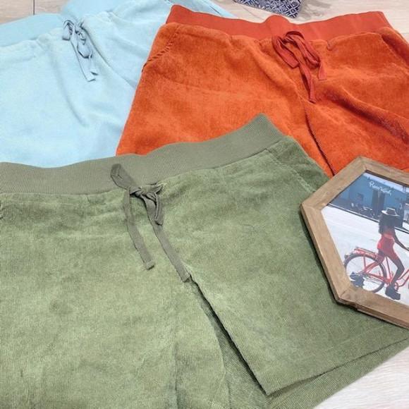 【SALE】くすみカラーショートパンツ