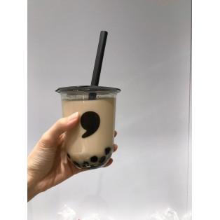 【秋の香り♪棒ほうじ茶ミルクティー】