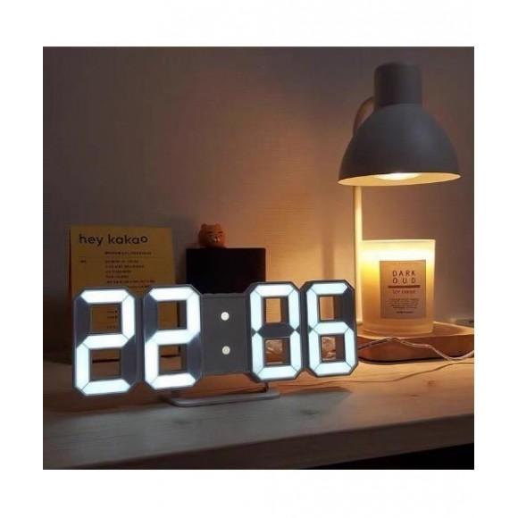 LED デジタル 置時計 / 壁掛け時計 / 韓国 インテリア