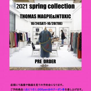【THOMAS MAGPIE】 PRE ORDER