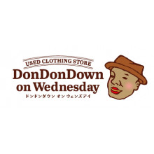 【LIMITED SHOP】DonDonDOWNonWednesday POP UP SHOP