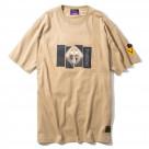 DAMAGED RATIO S/S T-Shirt(BEIGE(第10の使徒))