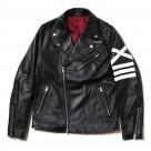 EVANGELION XIII Leather Riders Jacket