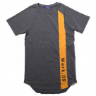 EVANGELION RAGLAN SLEEVE LINE T-Shirt (GRAY(Mark.09))