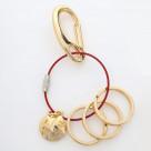 NERV Wire Key Ring (ASUKA)