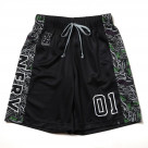 EVA-01 Practice Pants by SPALDING (Black x Multi) [the end of August delivery]
