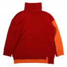 EVANGELION Panel Turtleneck Knit (RED(ASUKA))