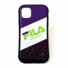 FILA × EVANGELION iPhone 11 CASE (LEOPARD(PURPLE))